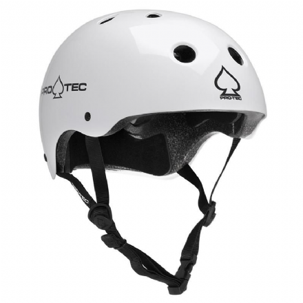 Pro-Tec Classic Certified Helmet Gloss White Medium